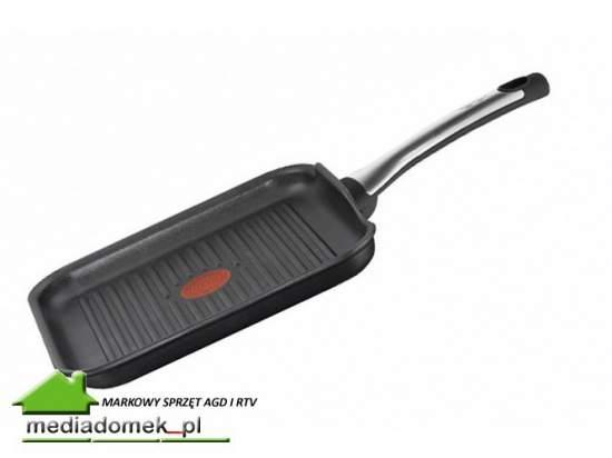 Patelnia TEFAL E4404052 grillowa 26cm TALENT Titanium INDUKCJA