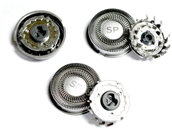 Shaver-Parts SH70 3 Głowice do golarki Philips SH70 serii s7XXX odS7XXX do S7999