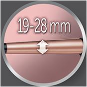 Lokówka Keratin Protect o średnicy 19-28mm CI83V6