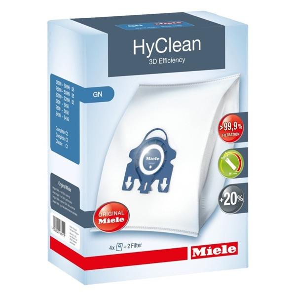 4 WORKI do odkurzacza Miele GN HyClean 3D+2 filtry