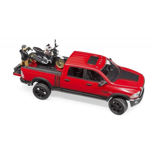 BRUDER 02502 Dodge RAM z motorem Ducati 63051