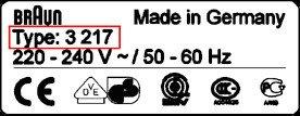 Braun 21B głowica folia ostrza SERIES 3 32B/32S OR