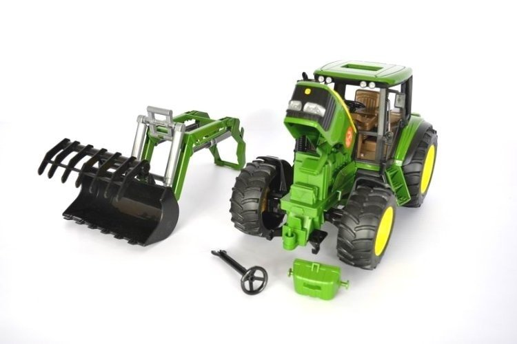Bruder 02052 Traktor John Deere z ładowaczem