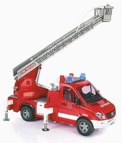 Bruder 02532 Sprinter wóz strażacki dźwięk woda