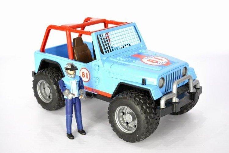 Bruder 02541 Jeep Cross Country figurka kierowcy