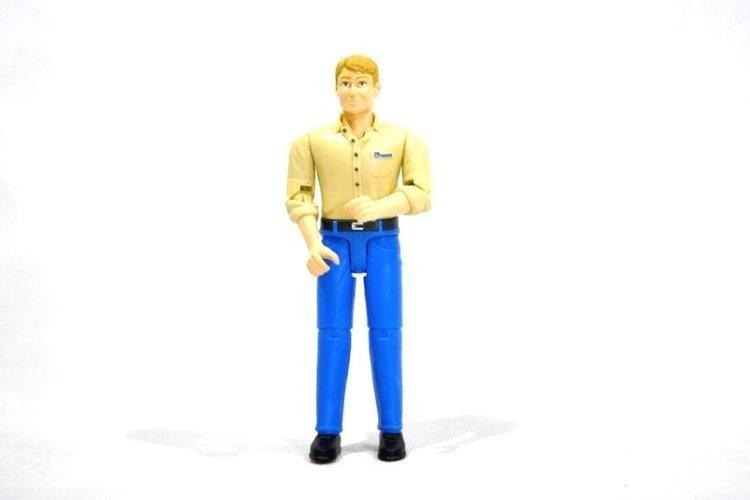 Bruder 60006 Figurka Robotnika mężczyzna 11cm