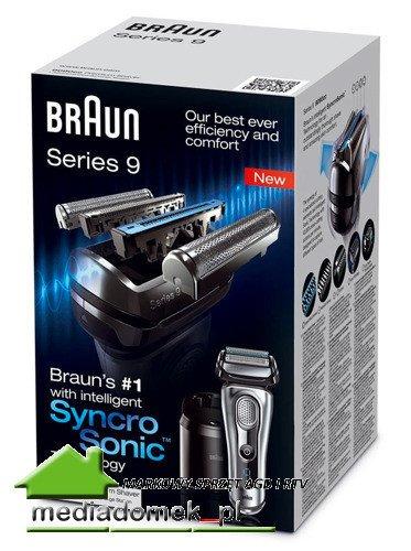 Golarka Braun Series 9 9095cc Wet&Dry Stacja czyszcząco-ładująca