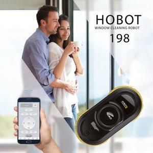 Hobot-198 Robot myjący do okien płytek szkła WROCŁAW