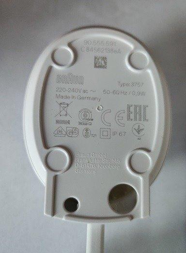 Verrassend Ładowarka Oral-B type 3757 do Szczoteczek Elektrycznych ORAL-B DS-46