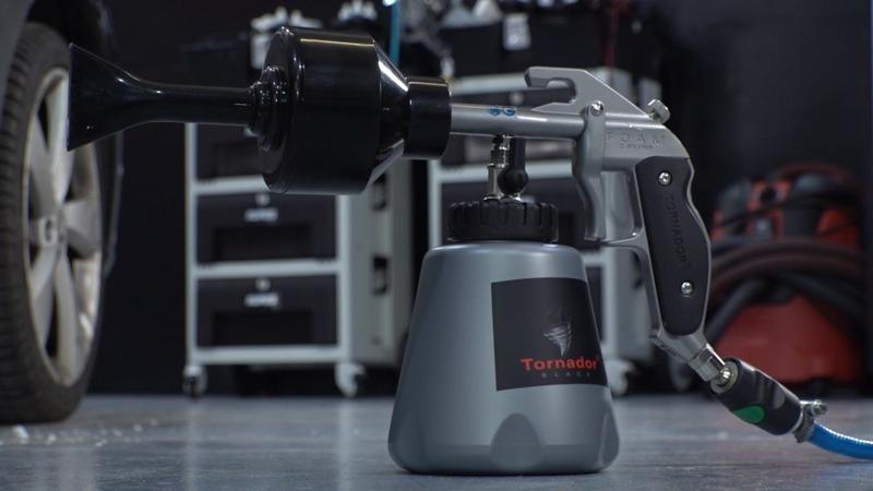 PIANOWNICA Tornador FOAM GUN Z-011RS sztywna piana na całym aucie w 45 sekund