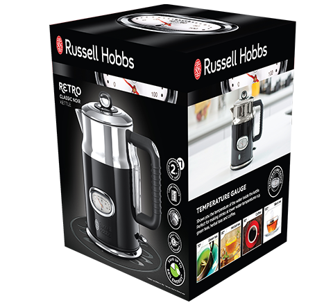 Russell Hobbs 21671-70 CZAJNIK RETRO CLASSIC NOIR