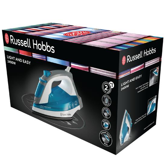 Russell Hobbs ŻELAZKO SUPREME STEAM LIGHT & EASY 23590-56