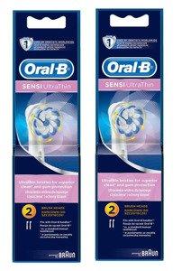 4 szt ORAL-B SENSI UltraThin EB60 100% ORYGINAŁ