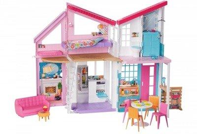 Barbie domek Malibu FXG57 6 pokoi + akcesoria