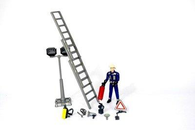 Bruder 62700 bWorld figurka strażaka z akcesoriami